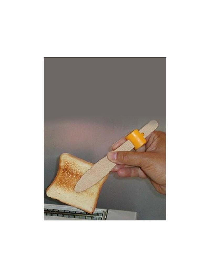 Pince à toast en bois